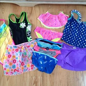 Other - Girls Swim Wear Bundle 10 pieces